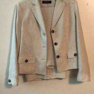 Super nice sz14 lined Kasper Modern pant suit
